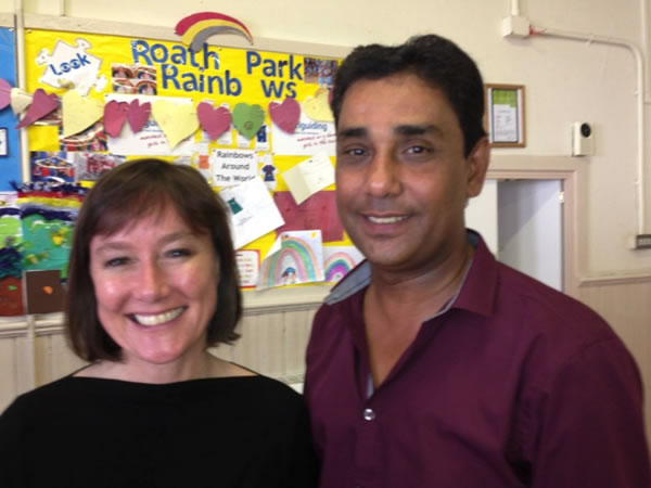 jo stevens mp with cllr ali ahmed